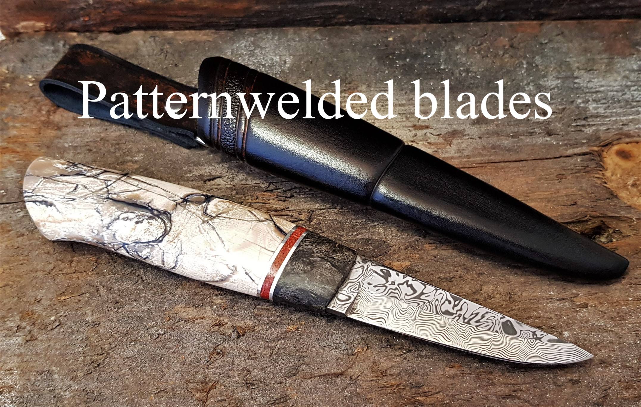 Patternwelded blades